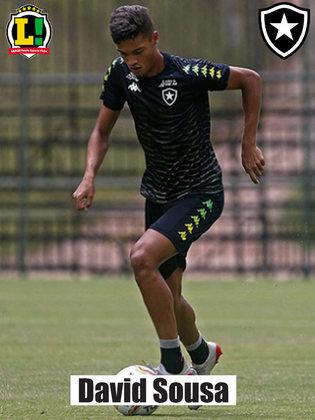 SOUSA - 6,0 - Cumpriu seu papel na marcação do sistema defensivo do Botafogo durante o primeiro tempo. Foi substituído no intervalo pelo atacante Davi Araújo.
