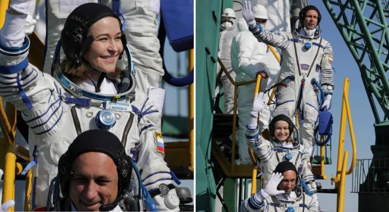 Yulia Peresild e Klim Shipenko decolam para rodar primeiro filme no espaço