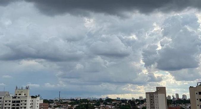 Pancadas de chuvas isoladas devem ocorrer ao longo desta semana