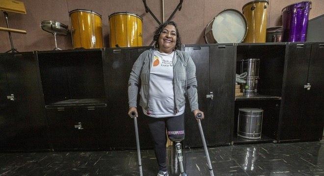 Desde 2017, a aposentada Selma Ferreira, de 56 anos, não usava legging