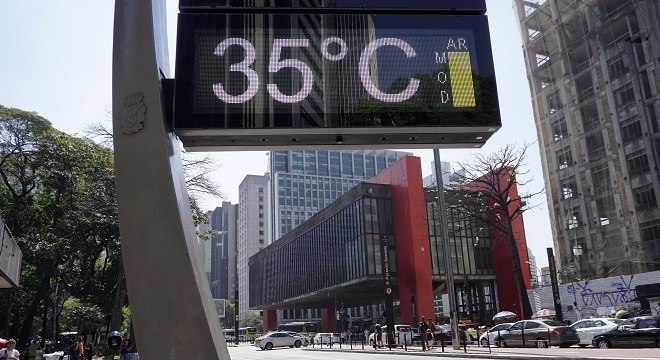 No final de semana o calor vai voltar de forma mais amena