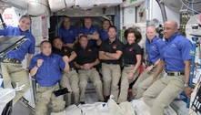 CápsulaCrew-2 da SpaceX chega na Estação Espacial Internacional