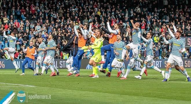 A festa da SPAL, 2 X 1 sobre a Juventus