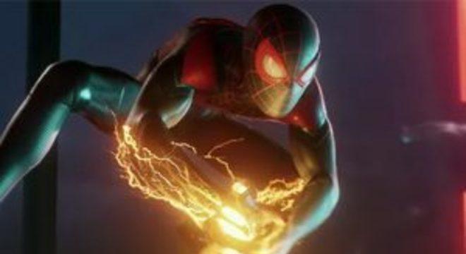 Spider-Man: Miles Morales para PS5 permitirá alternar entre 4K ou 60 quadros por segundo