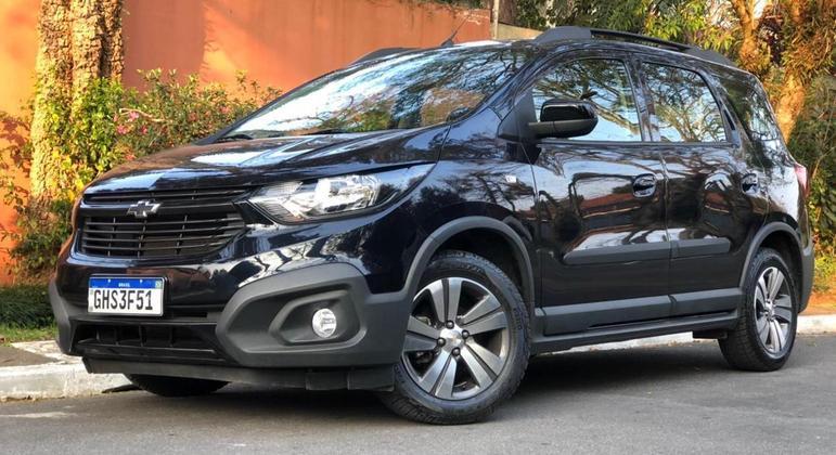 A Chevrolet tem uma boa opção entre os modelos sete lugares disponíveis no mercado