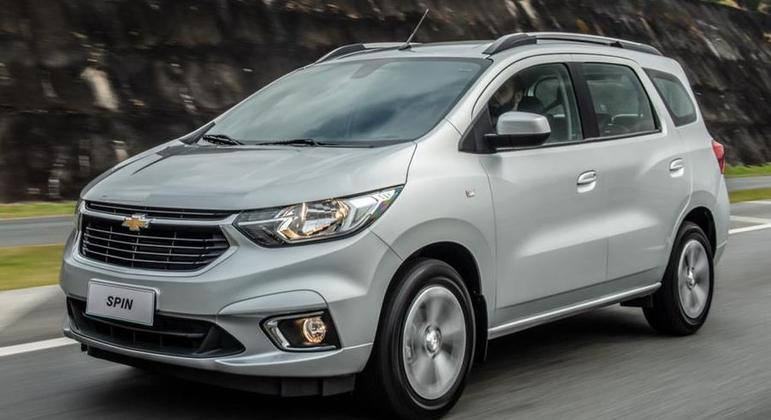 Chevrolet anuncia hoje a chegada da linha 2022 do Spin