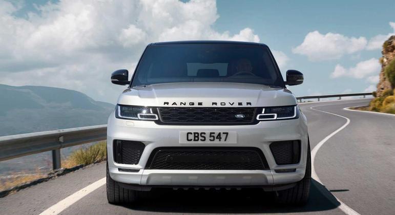 O Range Rover Sport 2021 ganhou alterações apenas na nova versão HSE Dynamic Black