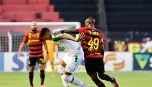 Sport e Chape empatam em jogo com expulsão de Thiago Neves