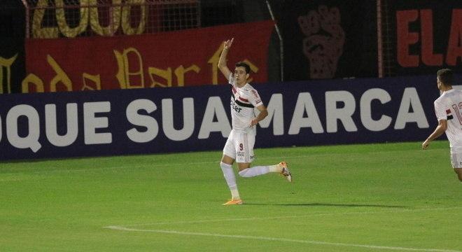 Pablo fez o gol da vitória do São Paulo diante do Sport Recife