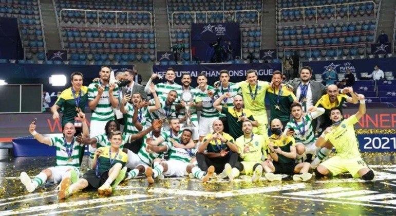 O Sporting, campeão de Portugal