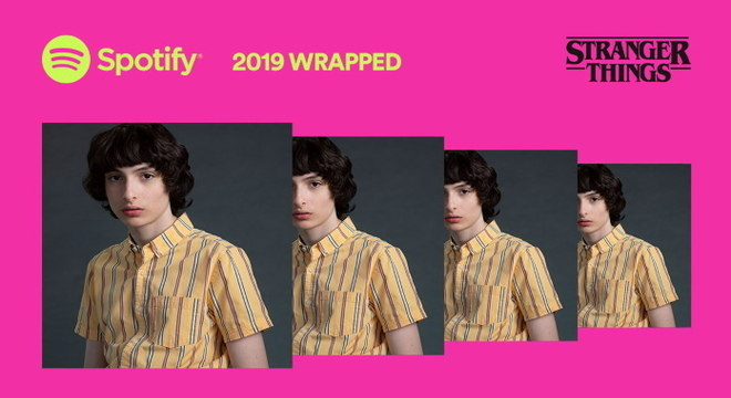Spotify Wrapped 2019 do Mike, de Stranger Things