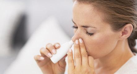Spray nasal teria eficácia de 100% em casos graves