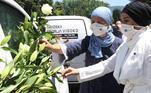 Homenagem a corpos de vítimas muçulmanas do Massacre de Srebrenica, identificadas 25 anos depois