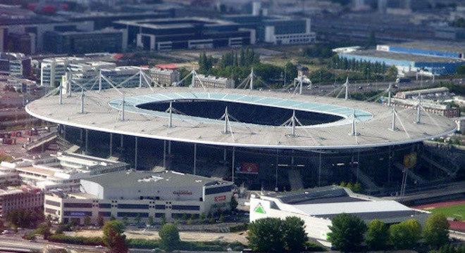 O Stade de France, em Saint-Denis, na França