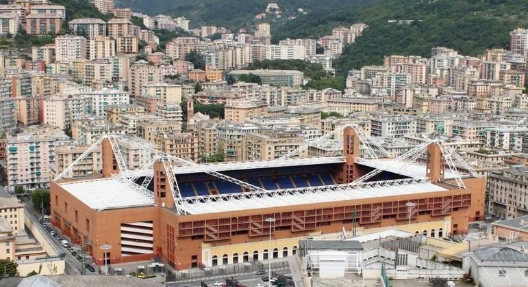 O Stadio Luigi Ferraris, de Gênova