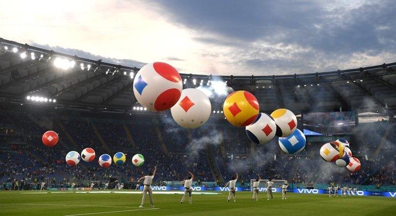 Apesar da pandemia, uma festa compacta mas digna no Olímpico de Roma