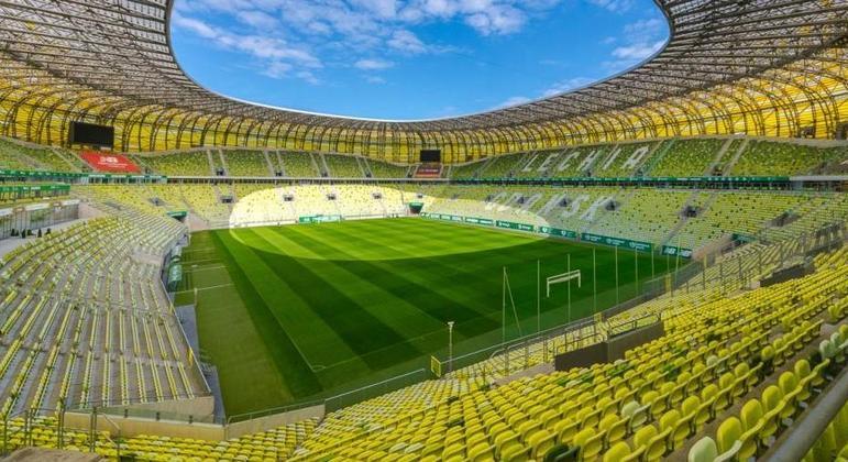 O Stadion Miejski de Gdanskqui