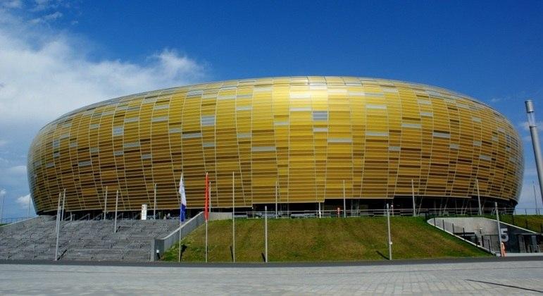 O Stadion Miejski, de Gdansk, palco magnífico da decisão da LE