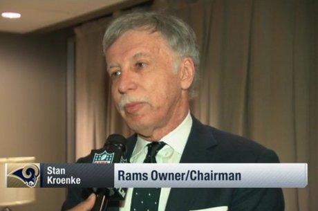 Stan Kroenke é o dono dos Rams