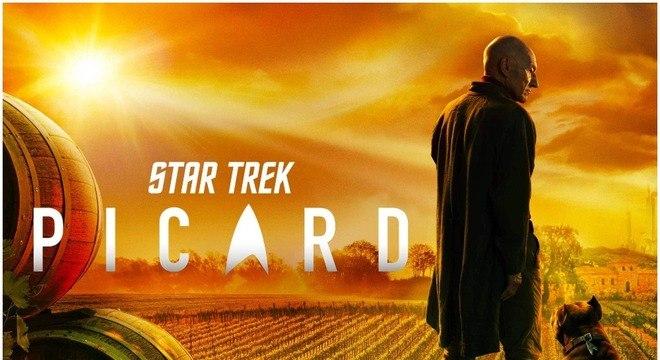 Jean-Luc Picard está de volta a Star Trek
