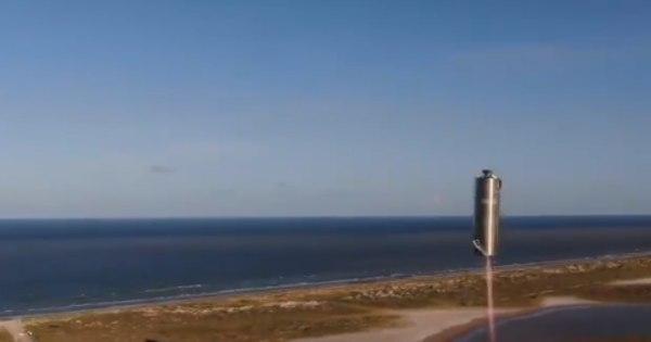 SpaceX testa com sucesso protótipo de espaçonave para ir a Marte