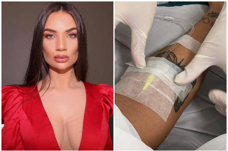 Stéfani Bays é medicada após fim de reality show