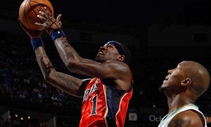 Stephen Jackson- Envolvido na maior briga de todos os tempos, o ex-ala é um dos líderes em faltas técnicas em todos os tempos na NBA. Controverso, brigou com oponentes e até colegas de equipe durante a carreira. Hoje, comanda um podcast, ao lado de Matt Barnes