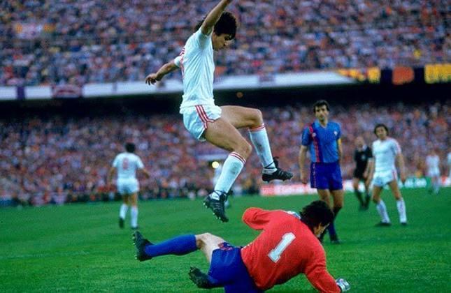 Steua Bucareste 0 x 0 Barcelona - Final da Champions League de 1985/1986 - Data - 07/05/86 - Estádio - Ramón Sánchez Pizjuán