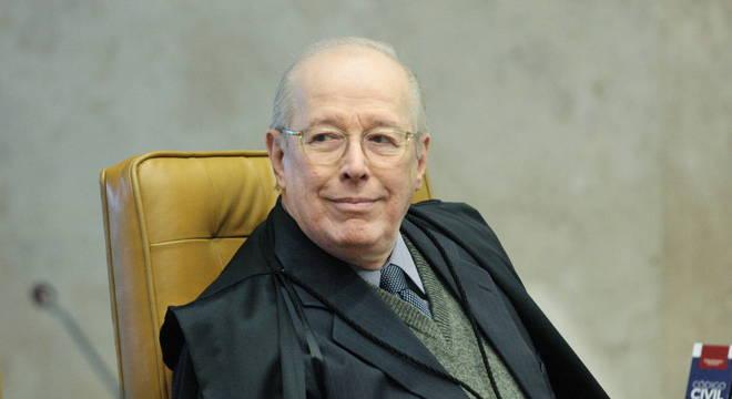 Na imagem, o ministro do STF (Supremo Tribunal Federal) Celso de Mello