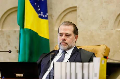 Na imagem, ministro Dias Toffoli, presidente do STF