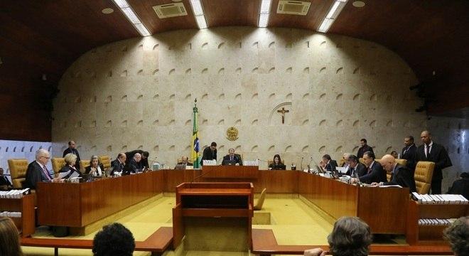 Cinco sessões foram necessárias para encerrar discussão no STF