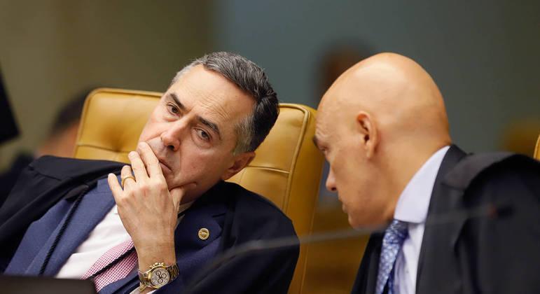 Ministros Barroso e Alexandre de Moraes defendem a democracia nas redes sociais