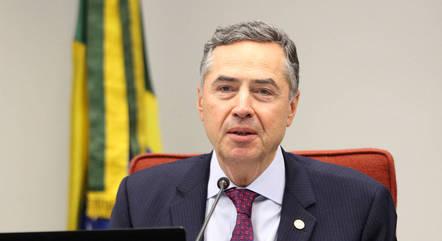 Na imagem, ministro Roberto Barroso (STF)