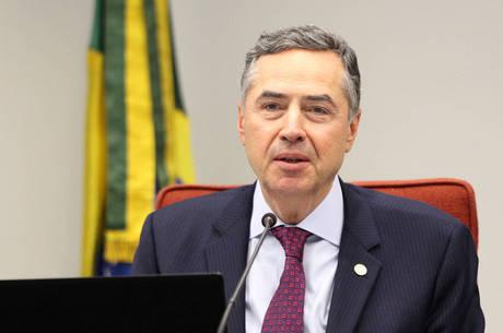 Ministro Roberto Barroso, presidente do TSE