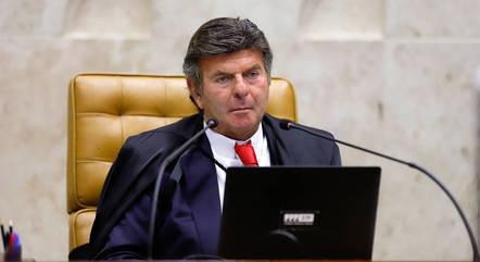 Ministro Luiz Fux é presidente do STF