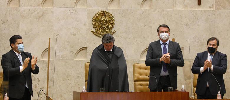 Sessão solene de posse do ministro Luiz Fux na Presidência do STF