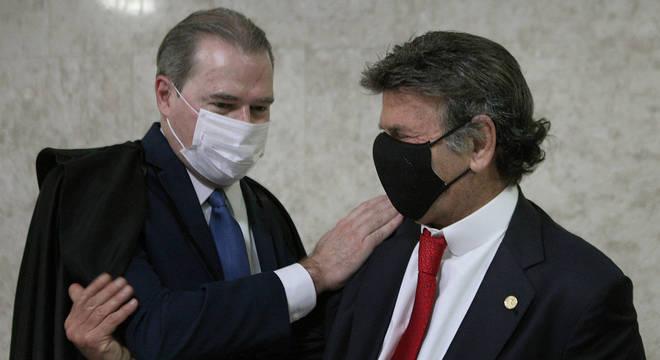 Toffoli, que na quinta passou a presidência do STF e do CNJ  a Luiz Fux