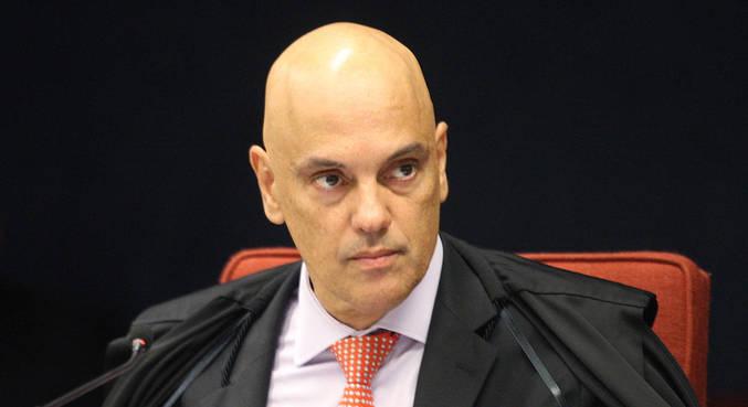 O ministro Alexandre de Moraes, que rebateu Bolsonaro em rede social