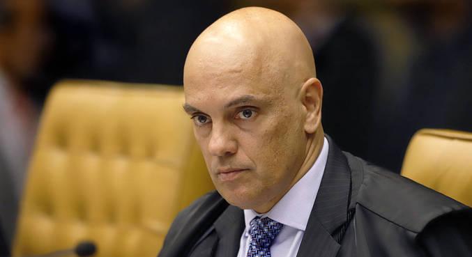 O ministro Alexandre de Moraes, que decidiu incluir o presidente em investigação