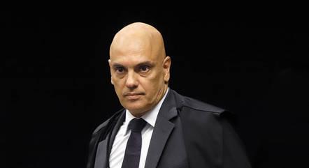 Ministro Alexandre de Moraes em sessão