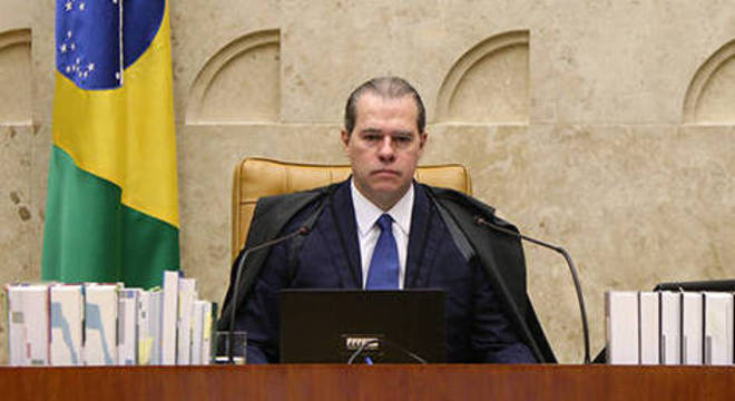 Ministro Dias Toffoli é presidente do Supremo Tribunal Federal