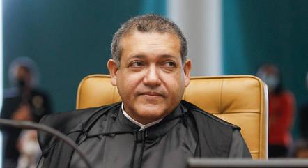 Na imagem, ministro Nunes Marques (STF)