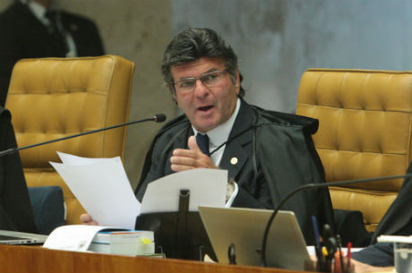 Fux foi o relator da ação sobre competência do TSE