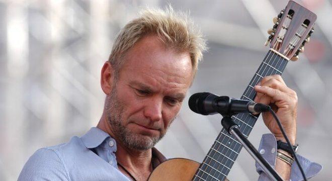 """Sting rejeita possibilidade de filme biográfico: """"nem pensar"""""""