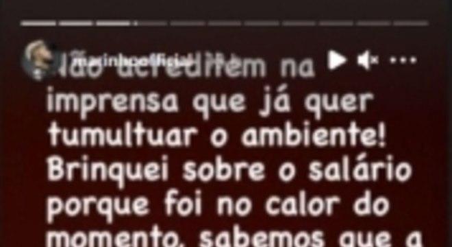 Story de Marinho