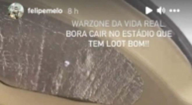 Story - Felipe Melo Warzone 1