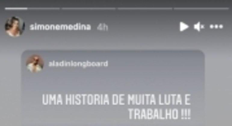 Story Mão Medina