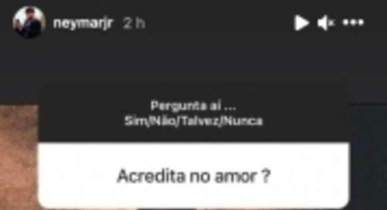 Story Neymar Amor