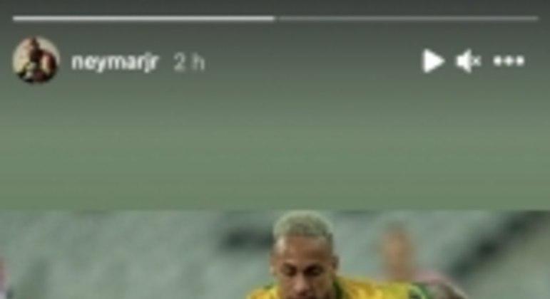 Story Neymar Vidal