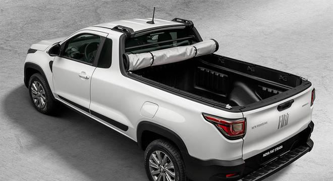 Com 770kg de capacidade de carga Fiat se consolida como a maior caçamba do segmento